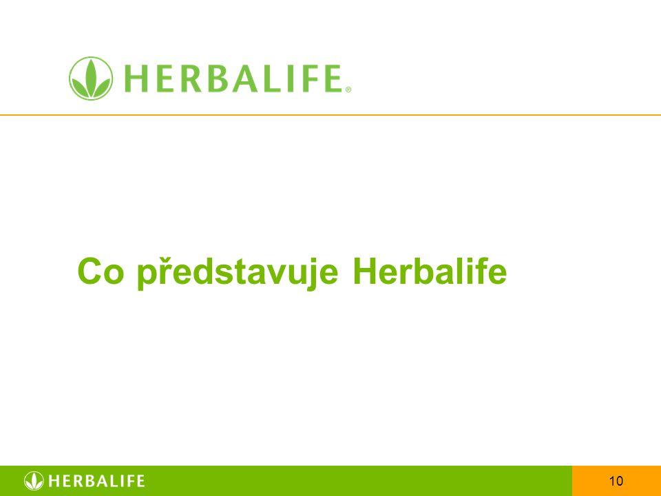 10 Co představuje Herbalife