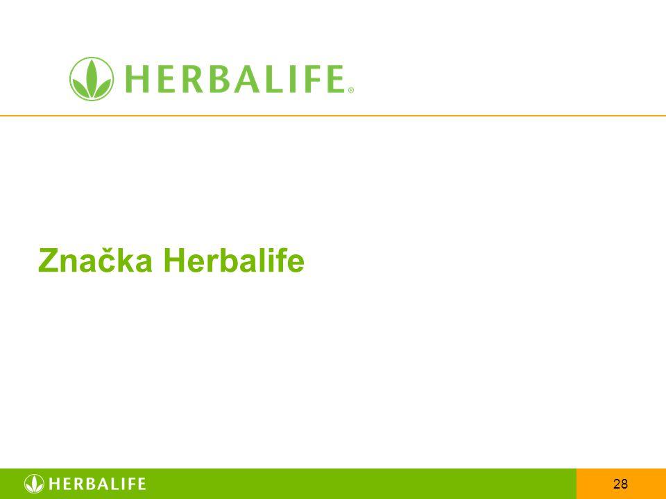 28 Značka Herbalife