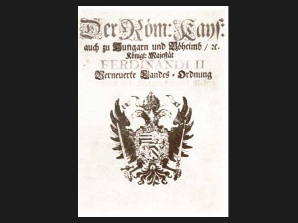 Pobělohorské změny v trestním právu Obnovená zemská zřízení instrukce selské řády a instrukce zvýšená ochrana panovníka zásada oficiality písemnost