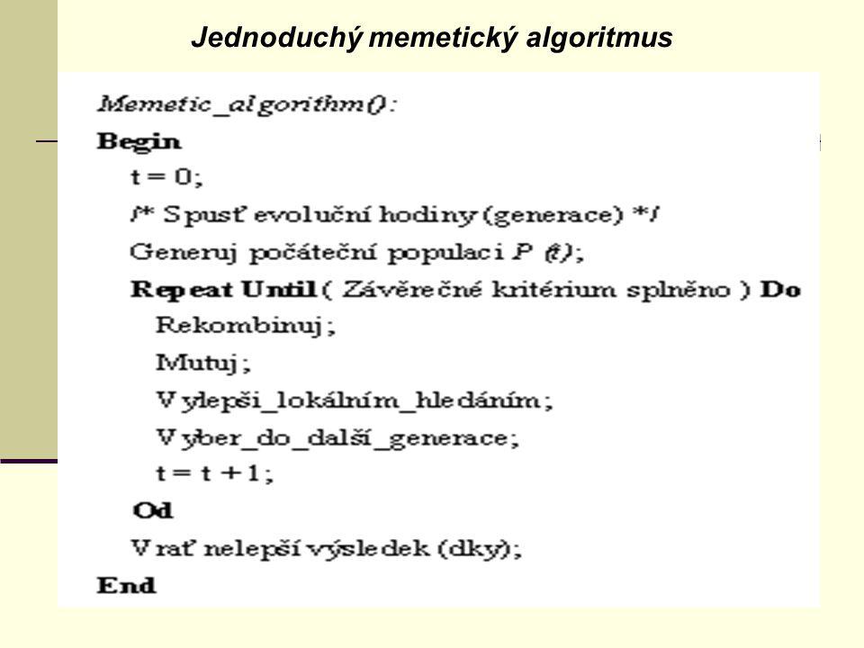 Jednoduchý memetický algoritmus