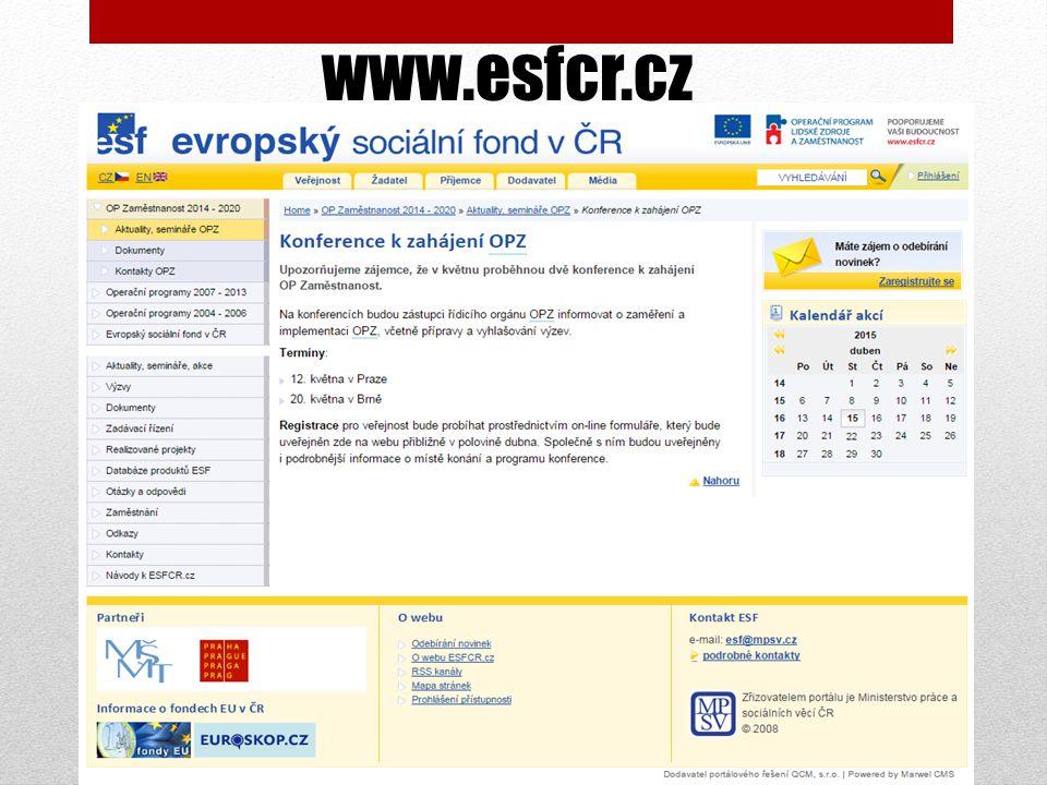 www.esfcr.cz
