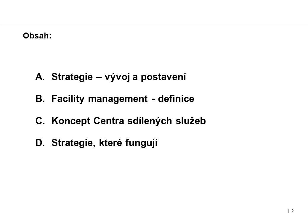 2 MUC- 95802- 464-01- 01-E Obsah: A. Strategie – vývoj a postavení B.