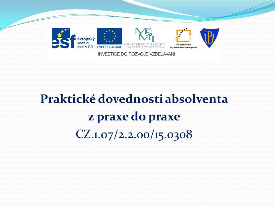 Praktická psychologie pro uchazeče o zaměstnání Olomouc 22.