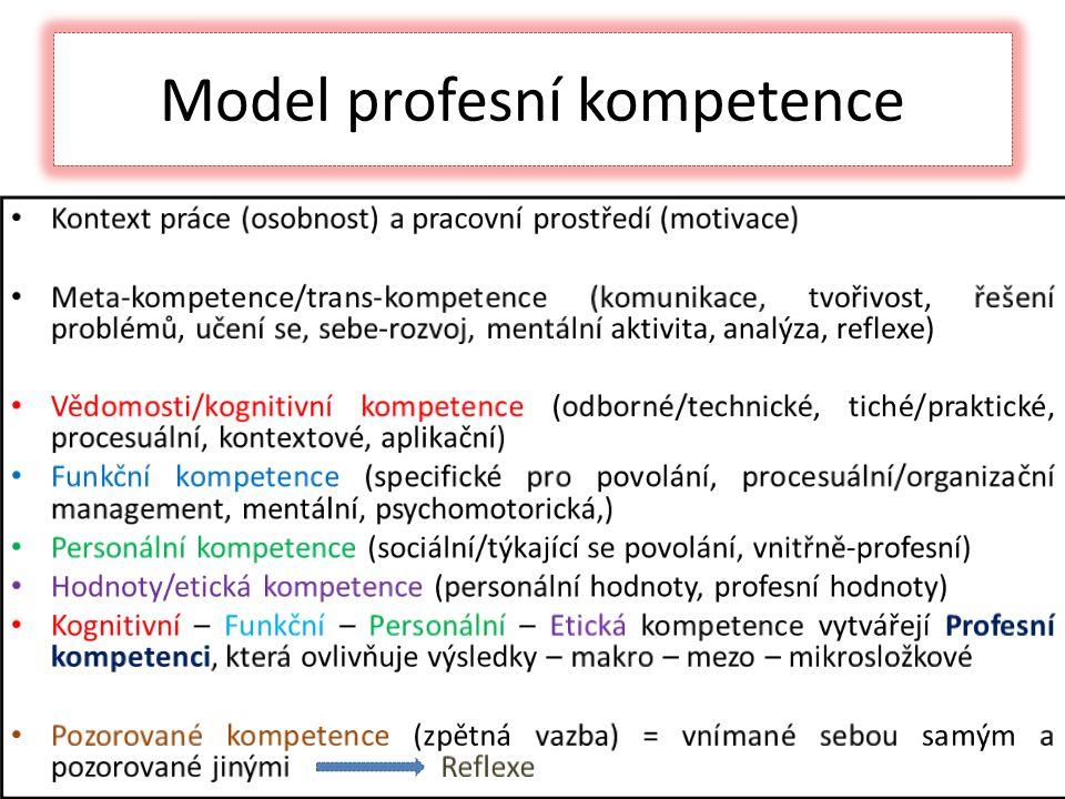 Model profesní kompetence