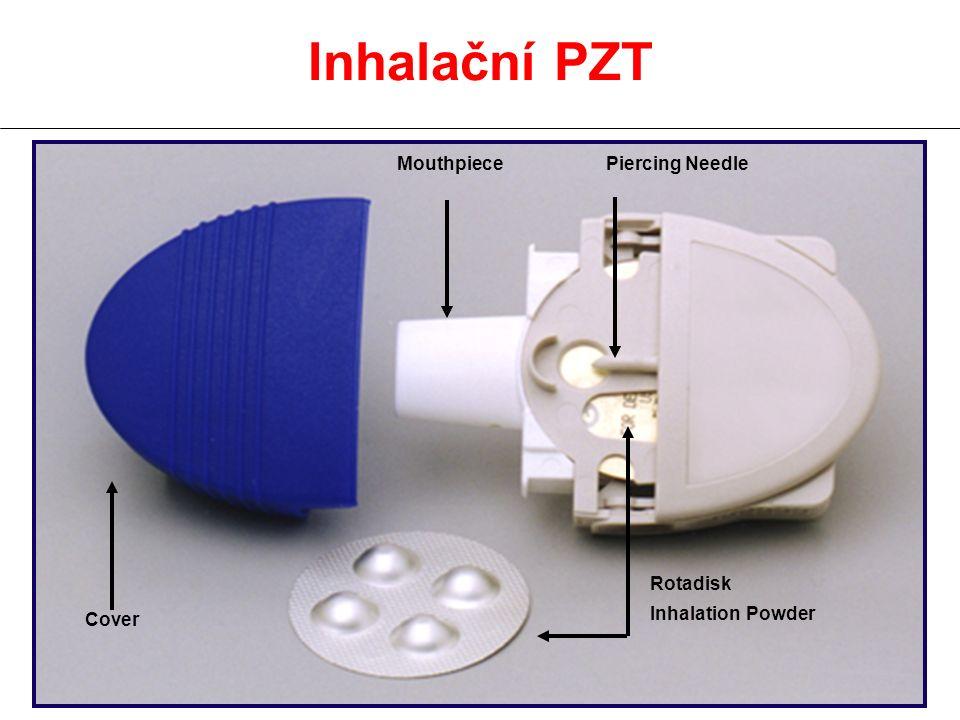 Inhalační PZT Rotadisk Inhalation Powder Cover MouthpiecePiercing Needle