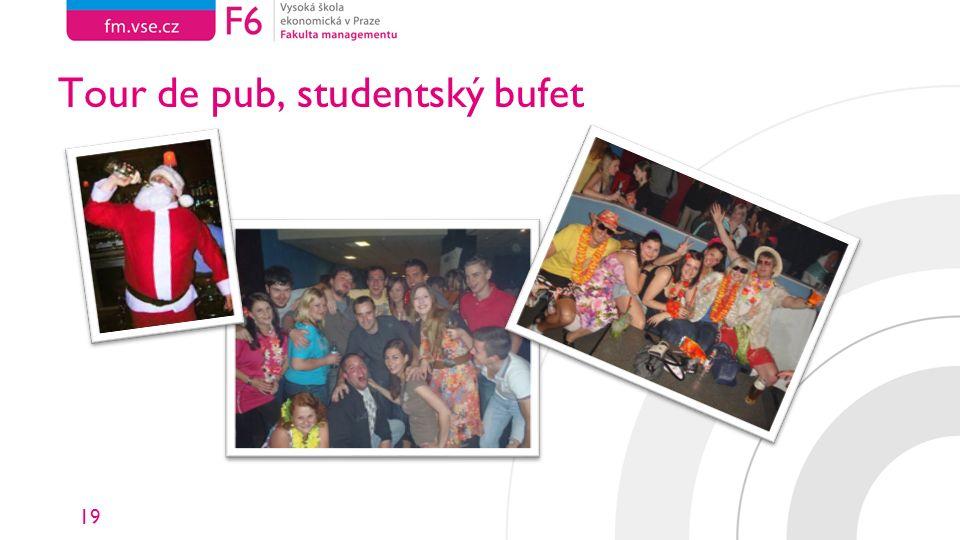 19 Tour de pub, studentský bufet