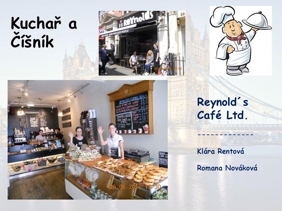Kuchař a Číšník Crowne Plaza London The City ------------- Ondřej Pokorný