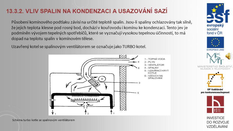 13.3.HODNOCENÍ KOMÍNŮ Z FYZIKÁLNÍHO A CHEMICKÉHO HLEDISKA 13.3.1.