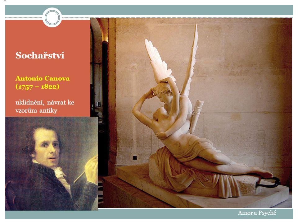Sochařství Antonio Canova oživení motivů citovostí Tři GrácieMagdalena