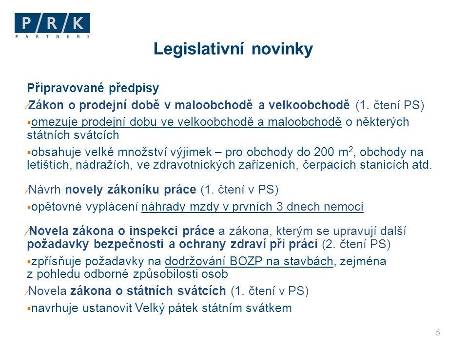 Připravované předpisy ⁄ Novela zákona o státní sociální podpoře (1.