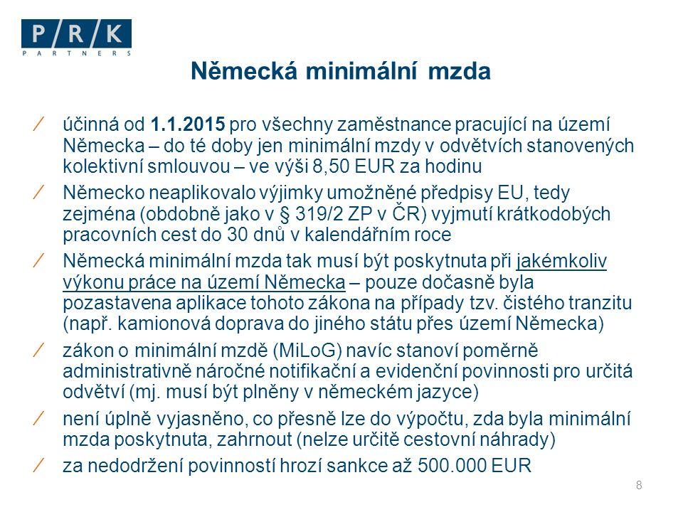 Děkuji za pozornost JUDr.Tereza Erényi, LL.M. PRK Partners s.r.o.