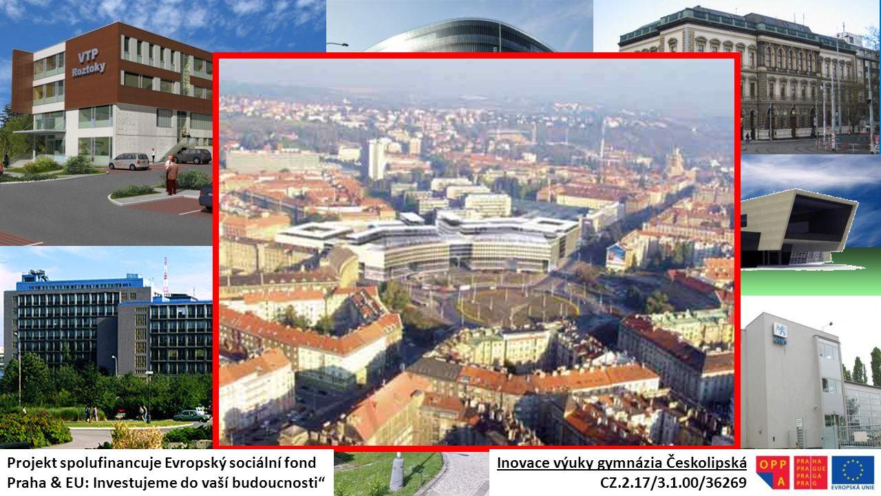 """Inovace výuky gymnázia Českolipská CZ.2.17/3.1.00/36269 Projekt spolufinancuje Evropský sociální fond Praha & EU: Investujeme do vaší budoucnosti"""""""