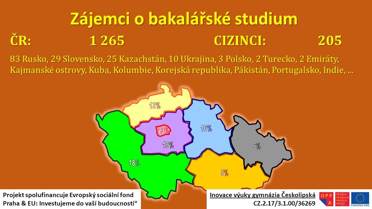 ČR: 1 265 CIZINCI: 205 83 Rusko, 29 Slovensko, 25 Kazachstán, 10 Ukrajina, 3 Polsko, 2 Turecko, 2 Emiráty, Kajmanské ostrovy, Kuba, Kolumbie, Korejská