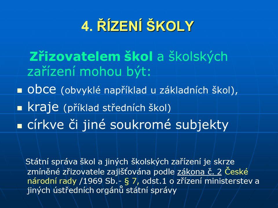 ŘÍZENÍ ŠKOLY 4.