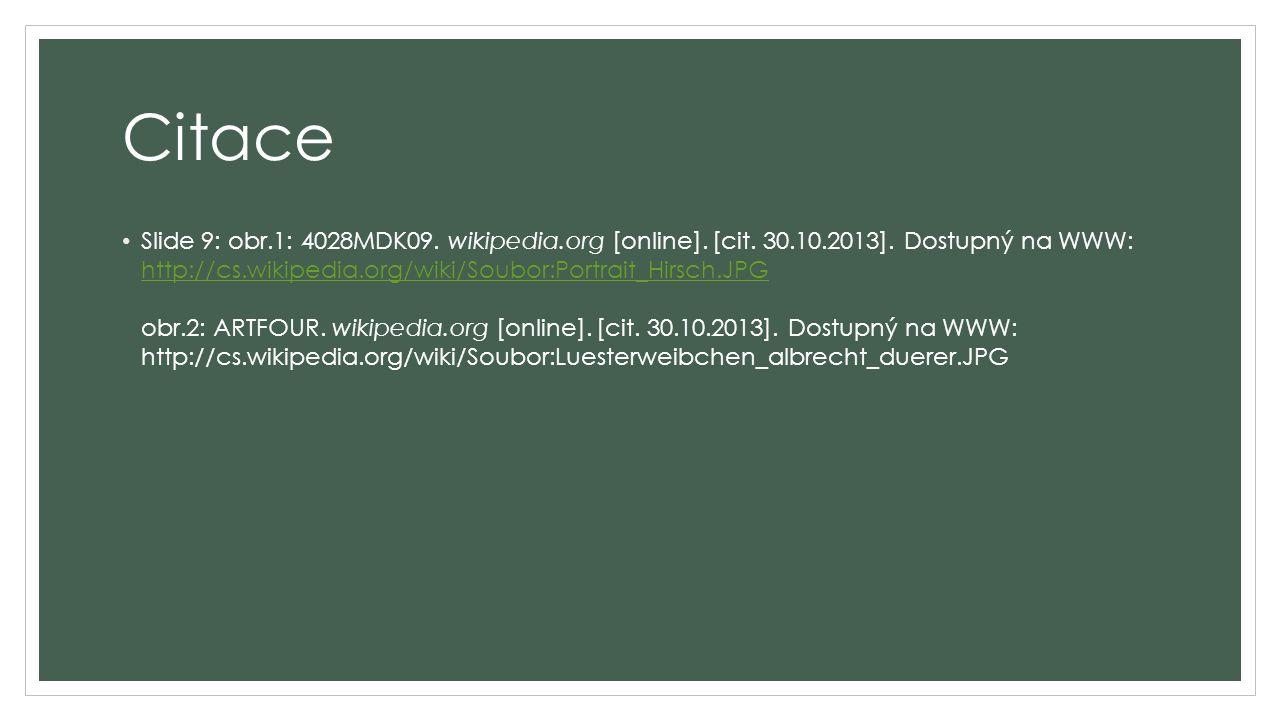 Citace Slide 9: obr.1: 4028MDK09. wikipedia.org [online].