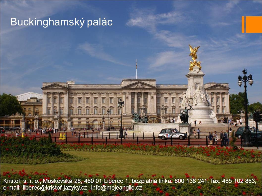 Buckinghamský palác Kristof, s.r.