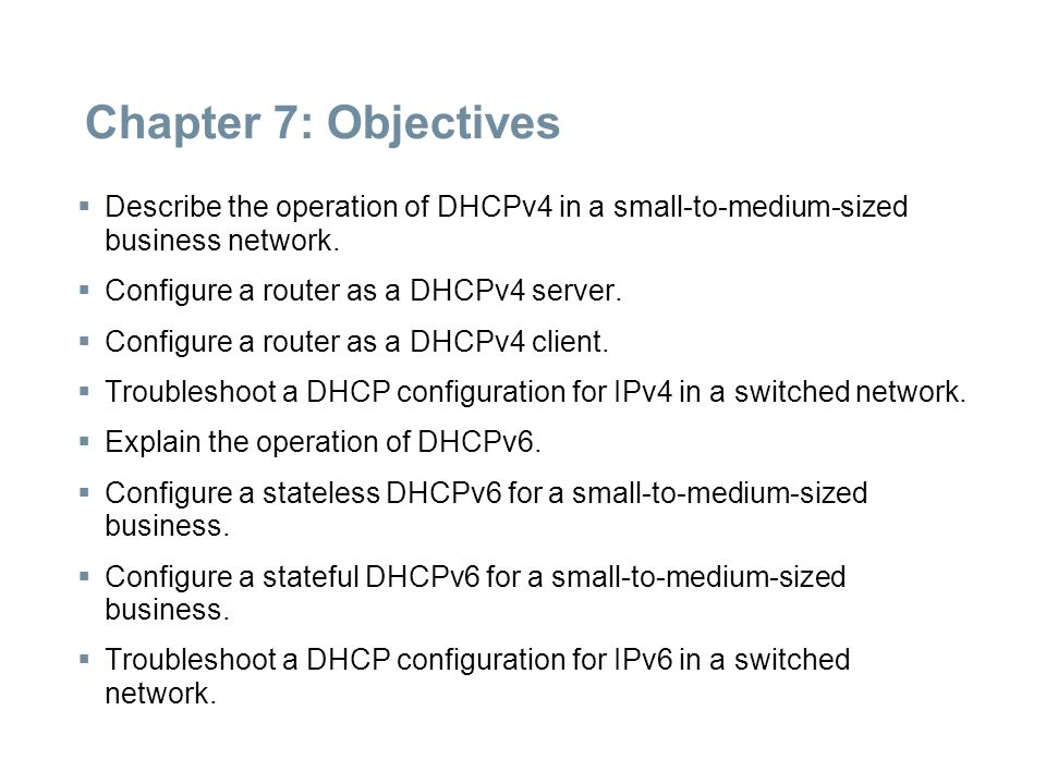 Order of DHCP v4 Messages Ještě jednou to samé: DISCOVER OFFER REQUEST ACKnowledge