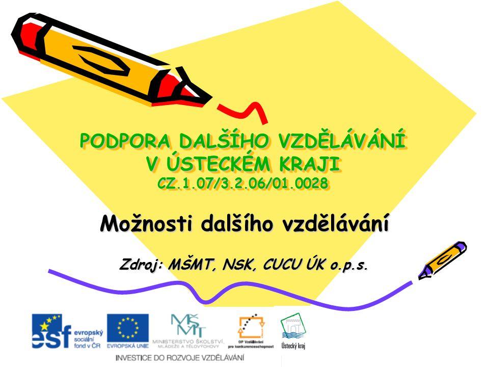 Obsah: představení projektu PDV definice DV a systém celoživotního učení zákon č.