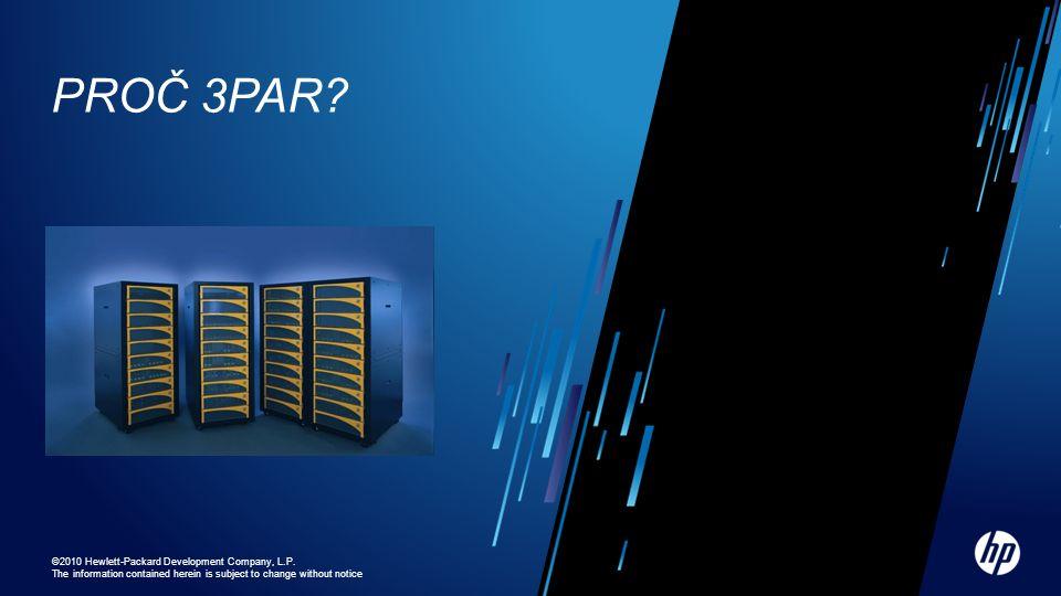 Tier 0 SSD Tier 1 Fibre Channel Tier 2 Nearline (Enterprise SATA) Dynamic Optimization Adaptive Optimization (AO) - Region AO with SATA & SSD Uspoří ~30% na $/IOPS a $/GB vs.