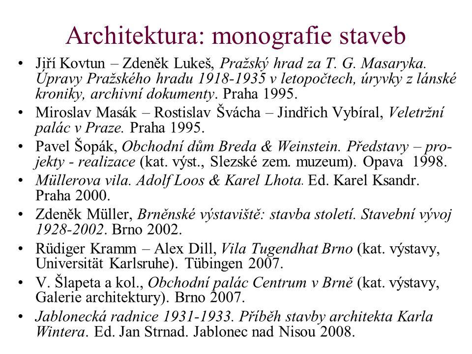 Architektura: monografie staveb Jiří Kovtun – Zdeněk Lukeš, Pražský hrad za T.