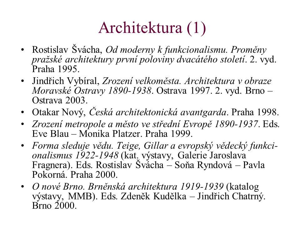 Architektura (2) Marie Benešová – František Toman – Jan Jakl, Salón republiky.
