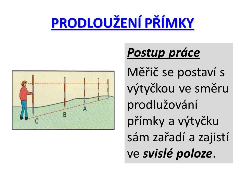 PRŮSEČÍK DVOU PŘÍMEK Provádí se pro nalezení bodu, ve kterém se kříží dvě přímky s označenými koncovými body.