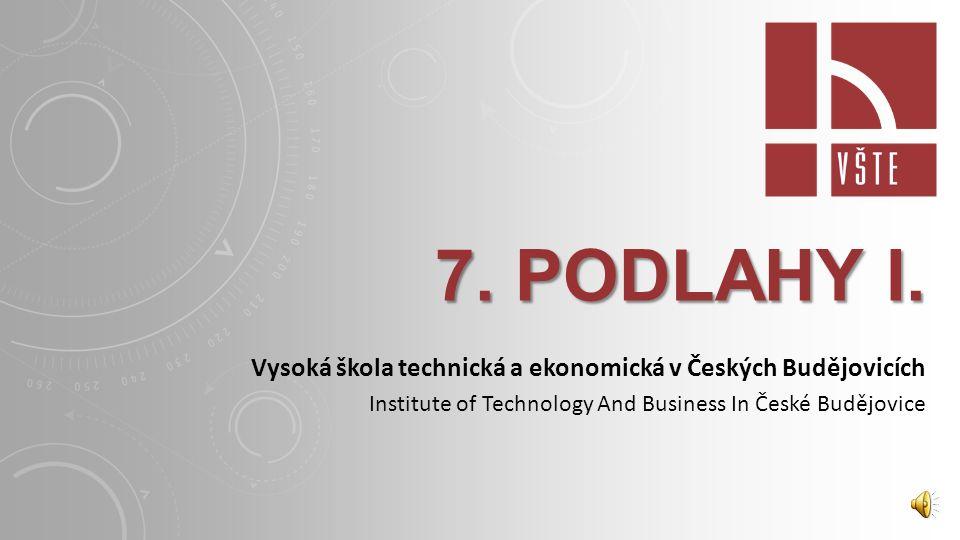 7.PODLAHY I.
