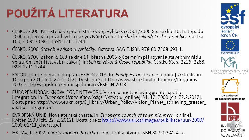 POUŽITÁ LITERATURA BRŮHA, J., V. FUČÍK, D. POLCAROVÁ, R.