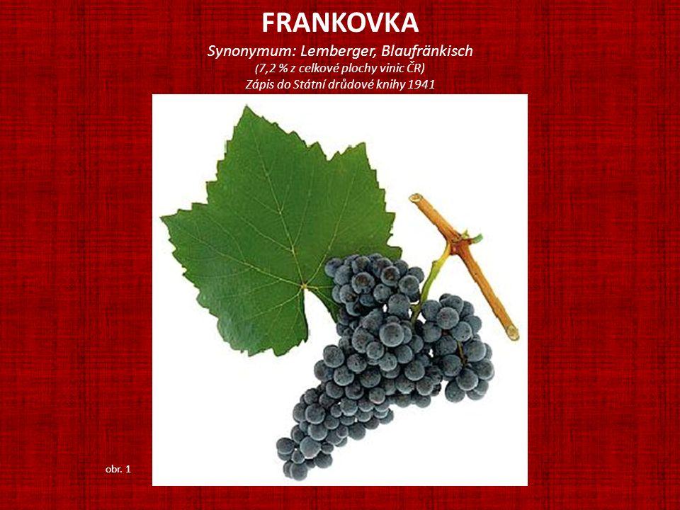ANDRÉ Odrůdu vznikla křížením odrůd Frankovka a Svatovavřinecké a byla nazvána na počest CH.