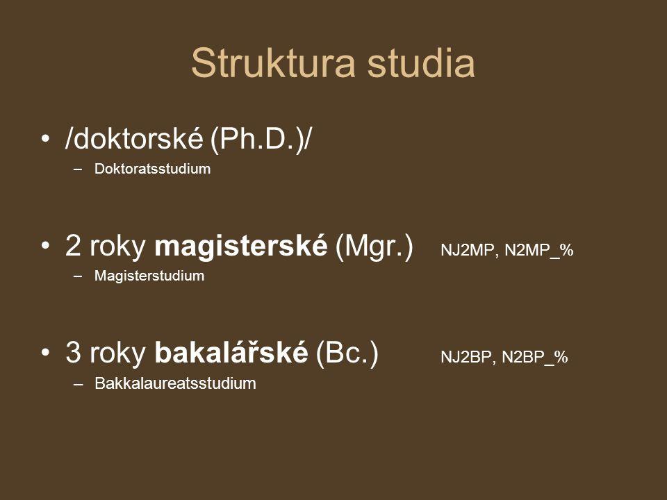 Akademické tituly Profesor/-ka (Prof.) –Univ.Professor/-in (Univ.