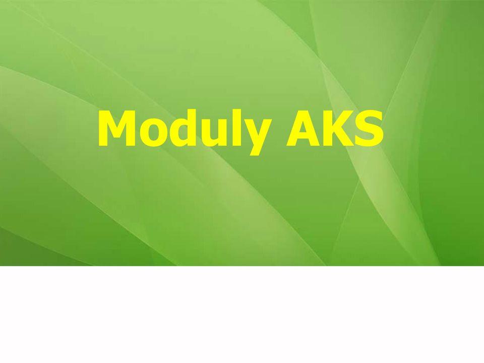 Moduly AKS