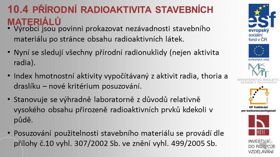 10.3.2 RADY PRO UŽÍVÁNÍ OBJEKTŮ Dostatečně větrat, hlavně v zimě. (otevření oken, mikroventilace, průvětrníky) Starší netěsná dřevěná okna tuto funkci