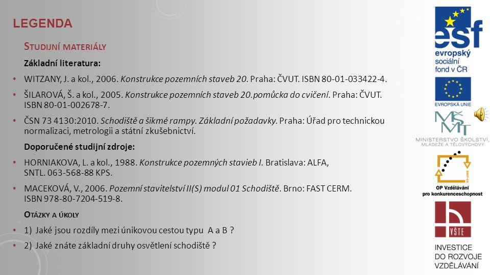 10.1.2 POŽÁRNÍ BEZPEČNOST SCHODIŠTĚ Chráněná úniková cesta typu A: od ostatních PÚ musí být oddělena požárními uzávěry otvorů; musí být přirozeně nebo