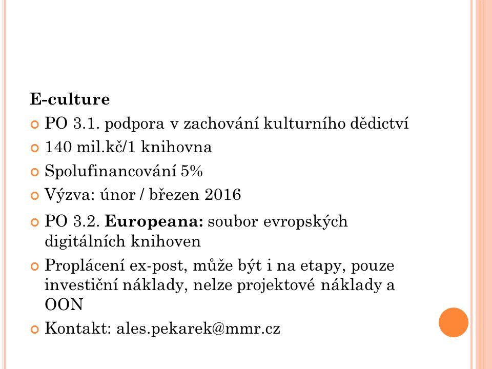 E-culture PO 3.1.