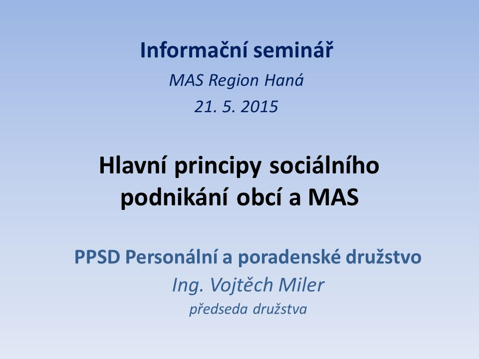 PPSD Personální a poradenské družstvo Ing.