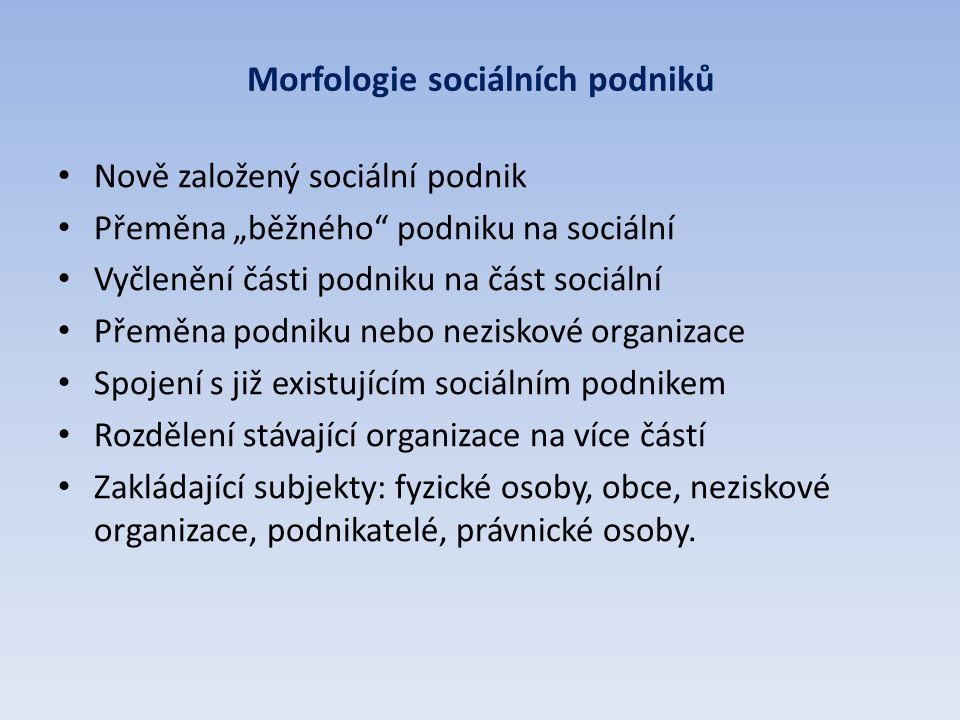 3. Praktické problémy při zakládání sociálních podniků (a jak se jim vyhnout)