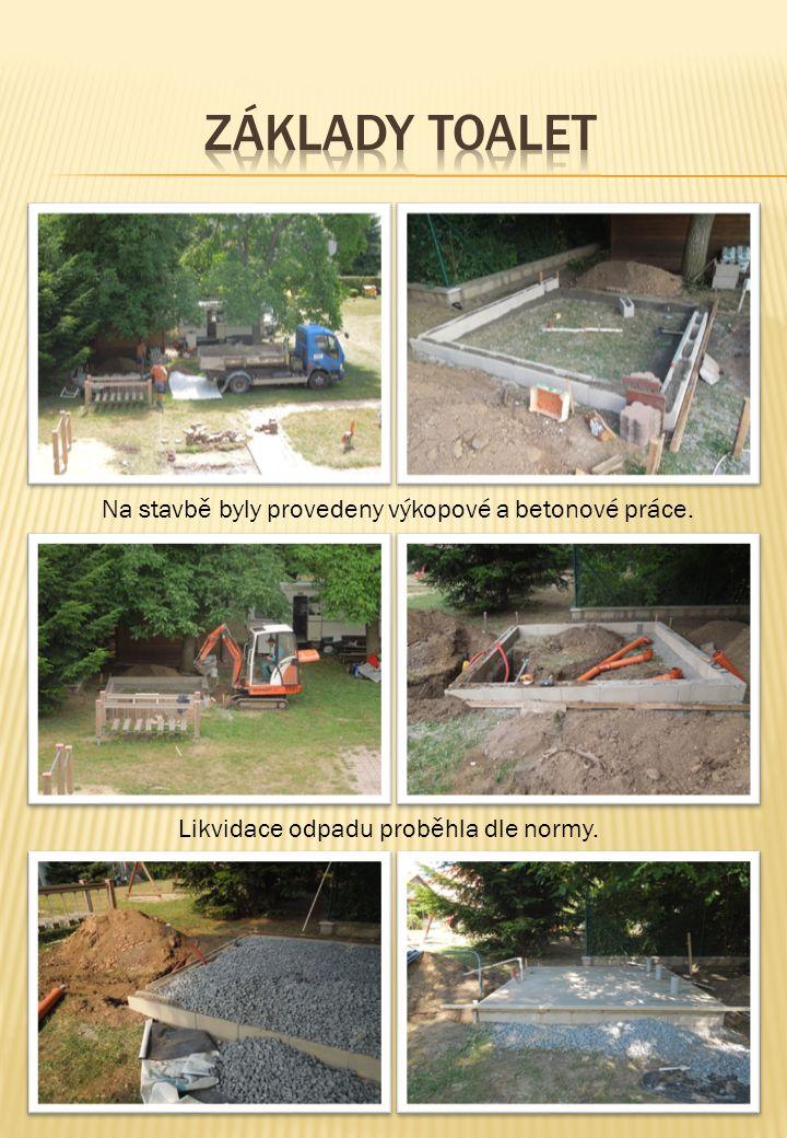 Odstranění brouzdaliště Likvidace odpadu proběhla dle normy. Na stavbě byly provedeny výkopové a betonové práce.