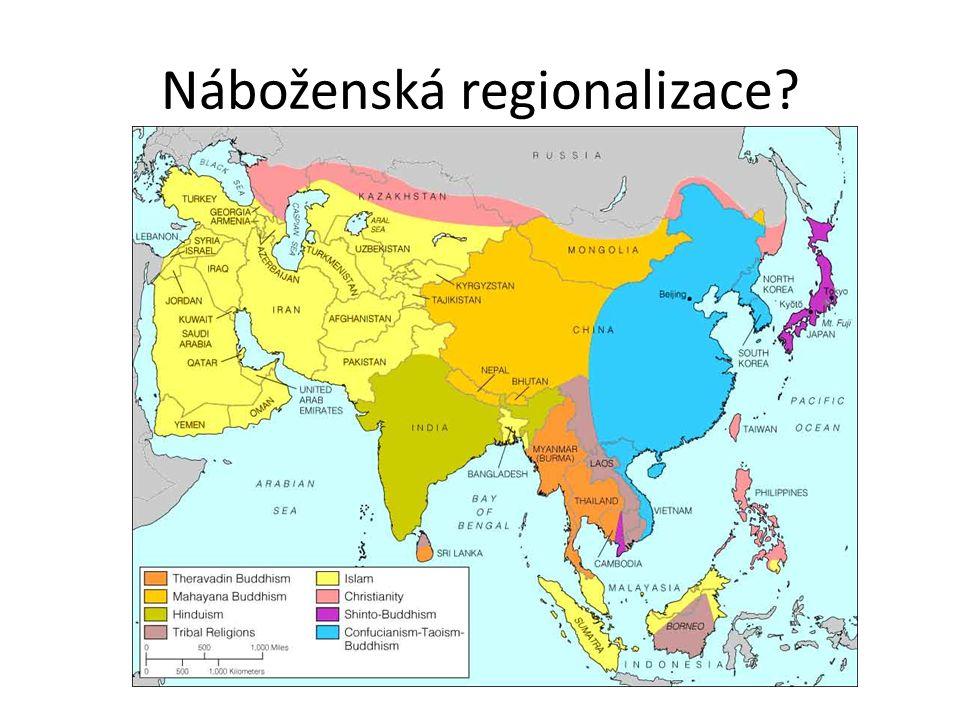 Náboženská regionalizace?