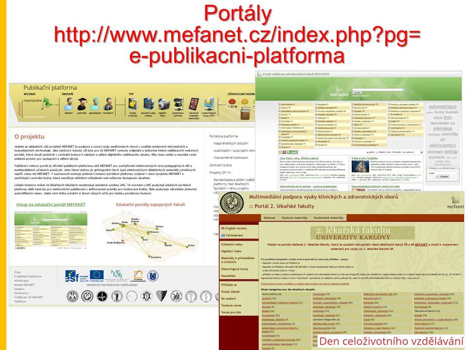 Portály http://www.mefanet.cz/index.php pg= e-publikacni-platforma