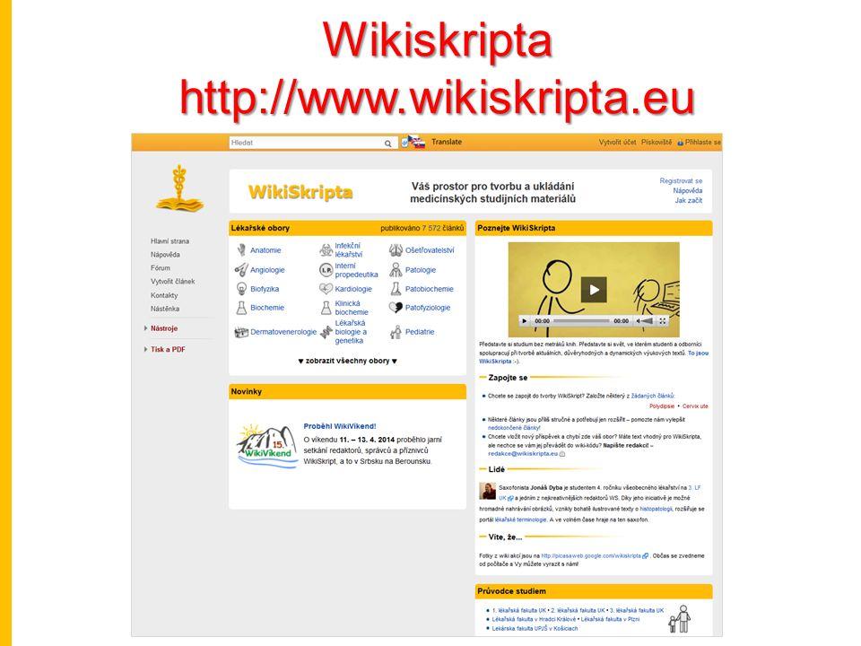 Wikiskriptahttp://www.wikiskripta.eu