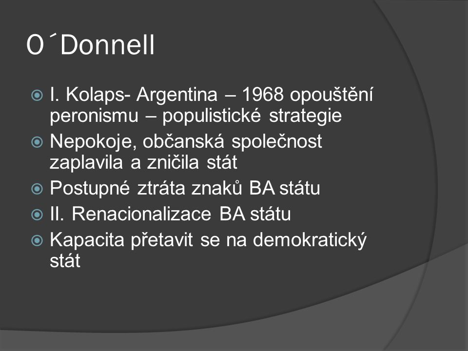 O´Donnell  I.