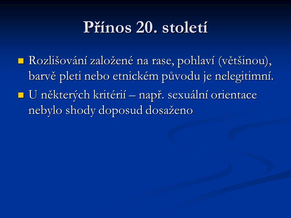 Přínos 20.