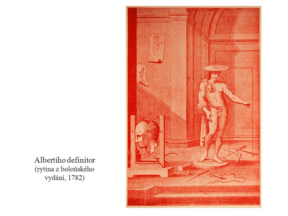Albertiho definitor (rytina z boloňského vydání, 1782)