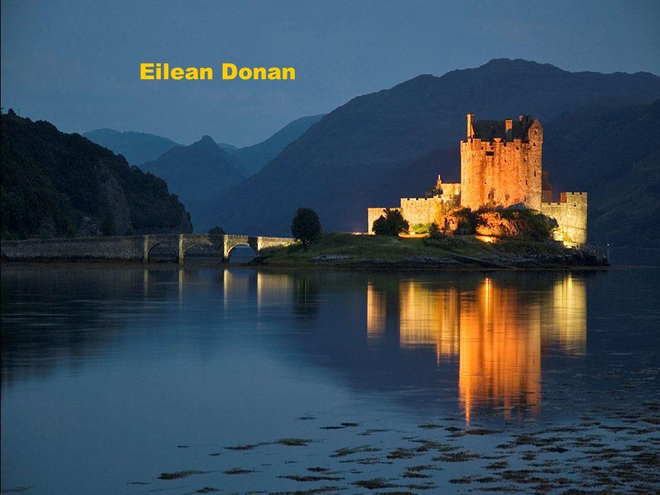 Skotsko Eilean Donan