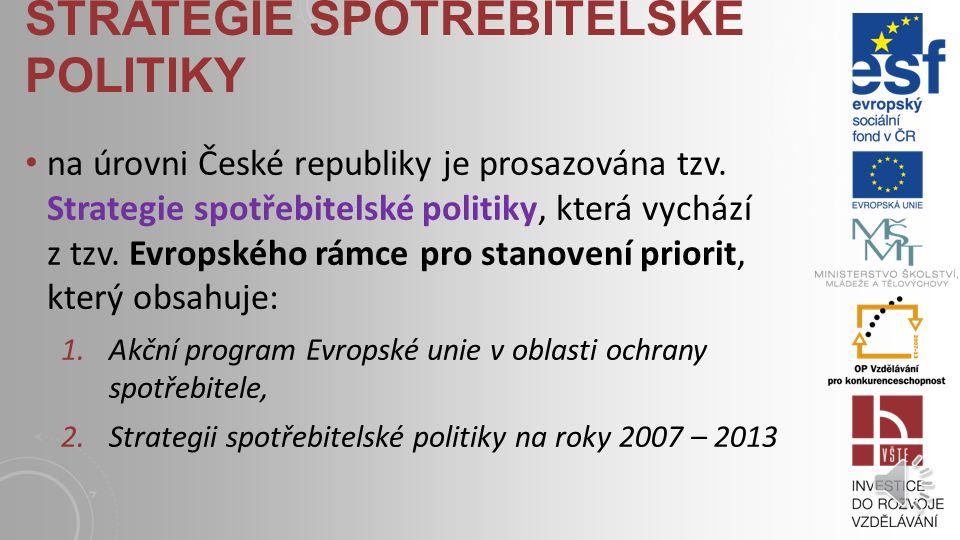 OCHRANA SPOTŘEBITELE velmi důležitá disciplína, která pomáhá spotřebitelům činit kvalifikovaná rozhodnutí a efektivní řešení vzniklých situací a sporů legislativa České republiky i Evropské unie se neustále snaží implementovat nové předpisy, jejichž cílem je důsledná ochrana spotřebitele