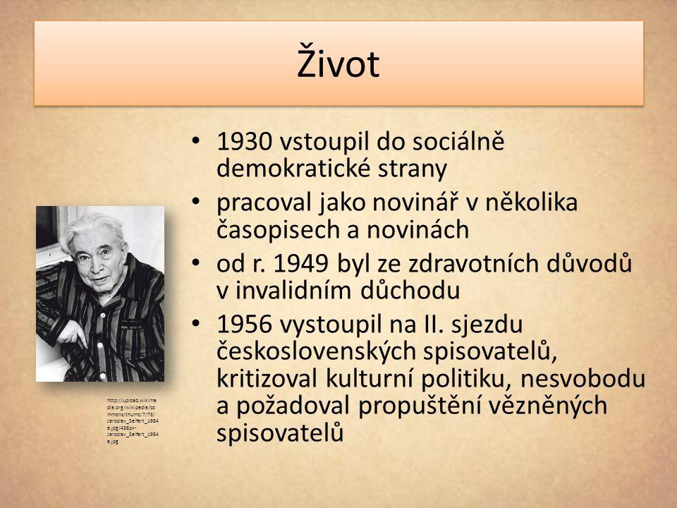 Život 1930 vstoupil do sociálně demokratické strany pracoval jako novinář v několika časopisech a novinách od r. 1949 byl ze zdravotních důvodů v inva