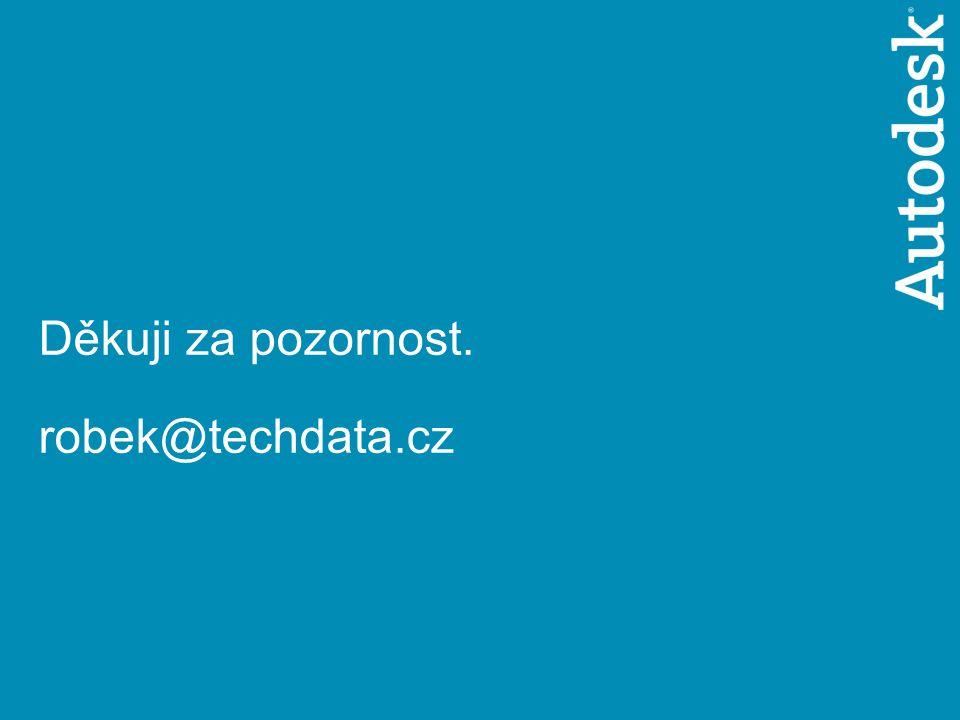 © 2005 Autodesk 14 GISáček 2006 Děkuji za pozornost. robek@techdata.cz