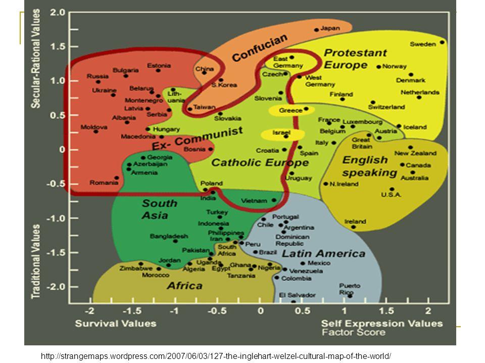 Geert Hofstede (2001) –úrovně národní kultury: Národní úroveň Regionální/etnická/religiózní/lingvistická afilační úroveň – základní kulturní mínění, názory Úroveň pohlaví Úroveň generační Úroveň sociální třídy http://www.geert-hofstede.com/
