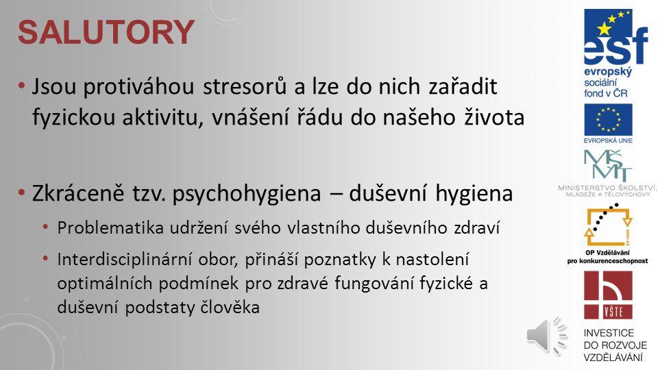AKUTNÍ A CHRONICKÝ STRES Akutní stres – krátkodobý, na místě a účelný Chronický stres – dlouhodobý, aktivace organizmu i psychiky