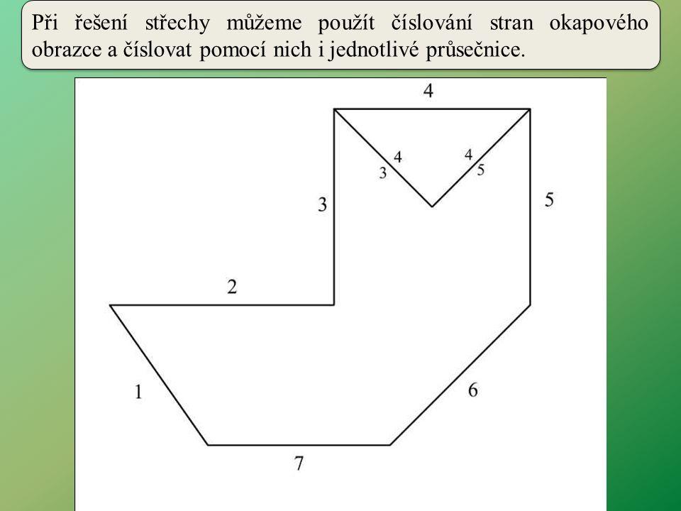 V každém sběžišti tvoří čísla průsečnic dvojice.